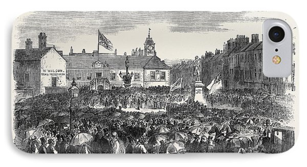 Inauguration Of The Steel Monument At Carlisle On The 16th IPhone Case