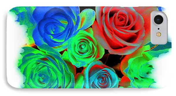 Incandescent Roses Phone Case by Will Borden
