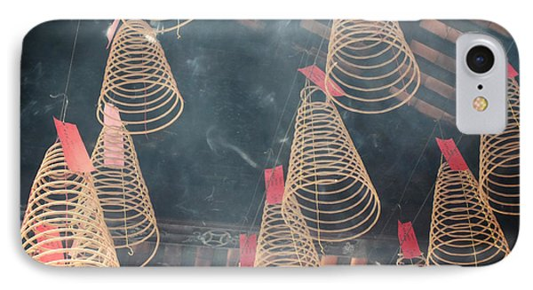 IPhone Case featuring the photograph Incense Coils by Lucinda Walter