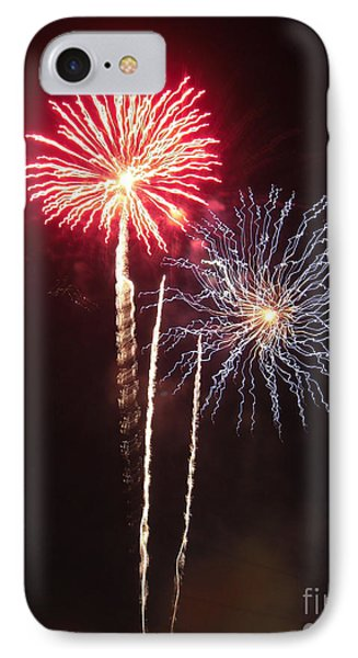 Independence Day Sparklers Phone Case by Deborah Smolinske