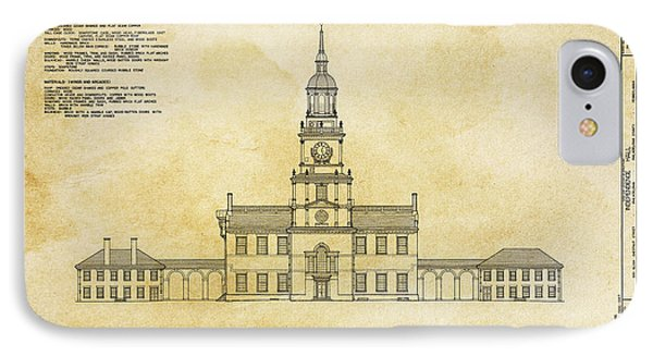 Independence Hall - Philadelphia IPhone Case