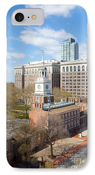 Independence Hall Philadelphia Phone Case by Kay Pickens