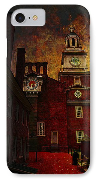 Independence Hall Philadelphia Let Freedom Ring Phone Case by Jeff Burgess