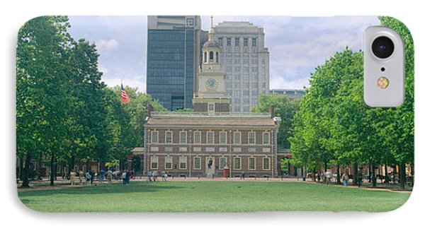 Independence Hall, Philadelphia IPhone Case by Panoramic Images