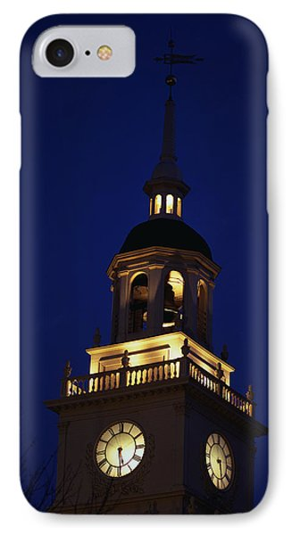 Independence Hall Tower Philadelphia Pa IPhone Case by Panoramic Images