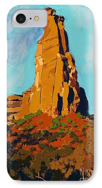 Independence Rock Phone Case by Craig Nelson