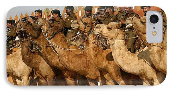 India Camel Band Phone Case by Henry Kowalski