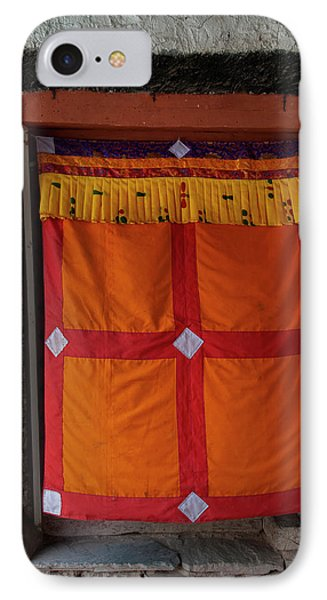 India, Jammu & Kashmir, Ladakh, Doorway IPhone Case