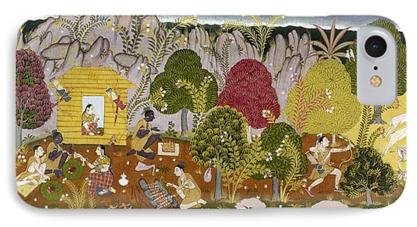 India Ramayana, C1650 IPhone Case
