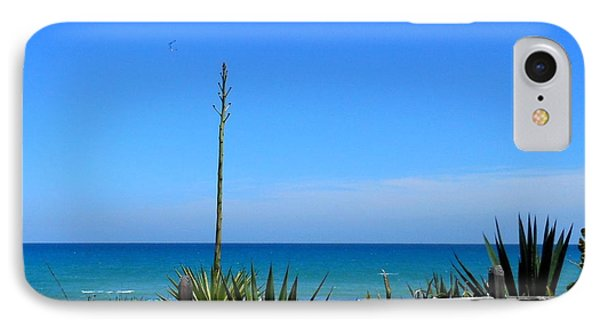 IPhone Case featuring the photograph Indialantic By The Sea by Kay Gilley