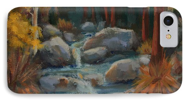Indian Canyon Creek IPhone Case by Maria Hunt