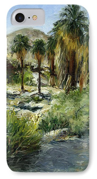 Indian Canyon Palms Phone Case by Stacy Vosberg