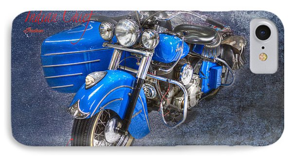 Indian Chief Motorcycle Legend IPhone Case