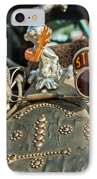 Indian Chopper Taillight Phone Case by Jill Reger