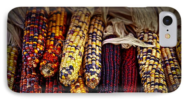 Indian Corn IPhone 7 Case by Elena Elisseeva