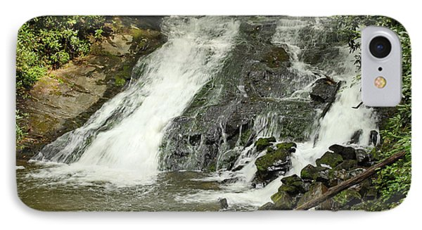 IPhone Case featuring the photograph Indian Creek Falls by Harold Rau