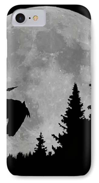 Indian Moon IPhone Case by Ernie Echols