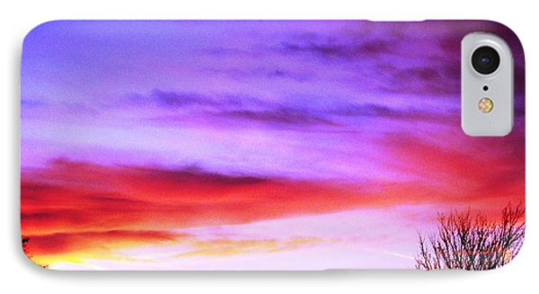 Indian Morning Sky IPhone Case by Belinda Lee