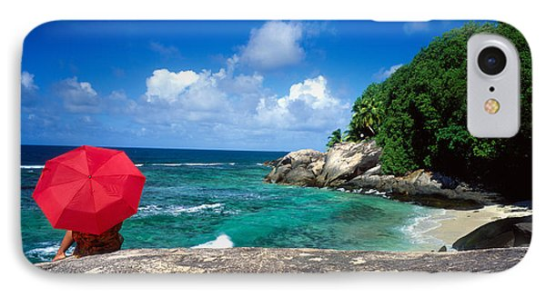 Indian Ocean Moyenne Island Seychelles IPhone Case by Panoramic Images