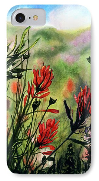 Indian Paint Brush IPhone Case by Barbara Jewell