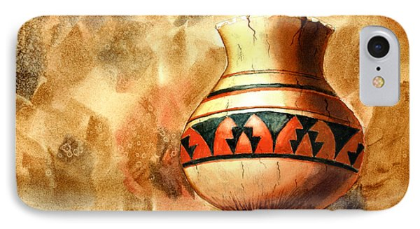 Indian Pot IPhone Case by Pattie Calfy