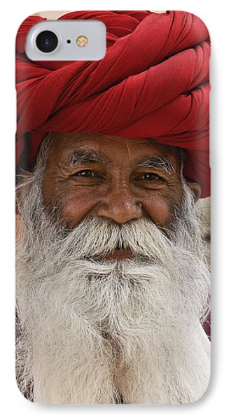 Indian Santa Claus? IPhone Case by Michele Burgess