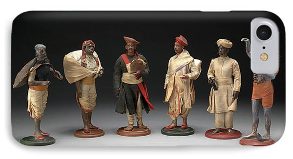 Indian Trades And Occupations A Group Of Six Bengali IPhone Case by Litz Collection