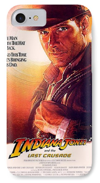 Indiana Jones And The Last Crusade  IPhone Case by Movie Poster Prints