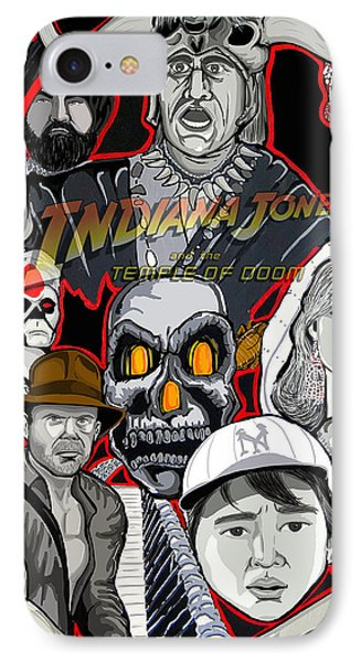 Indiana Jones Temple Of Doom Phone Case by Gary Niles