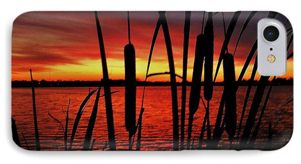 Indiana Sunset Phone Case by Benjamin Yeager