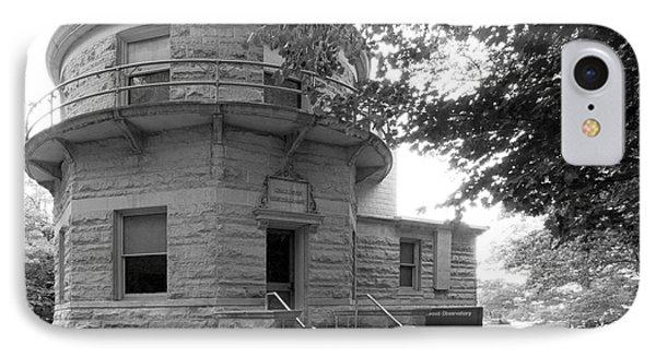 Indiana University Kirkwood Observatory Phone Case by University Icons