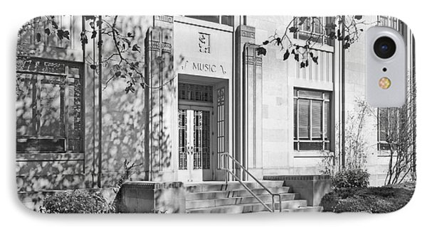 Indiana University Merrill Building Entrance IPhone Case by University Icons