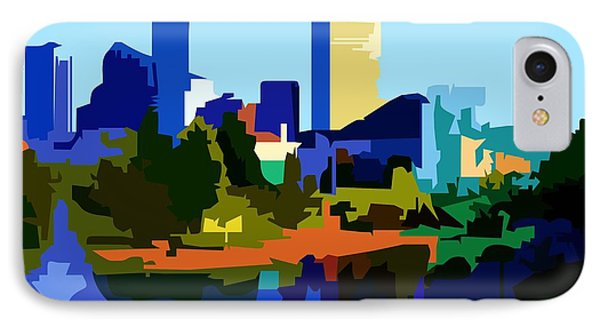Indianapolis Cityscape IPhone Case