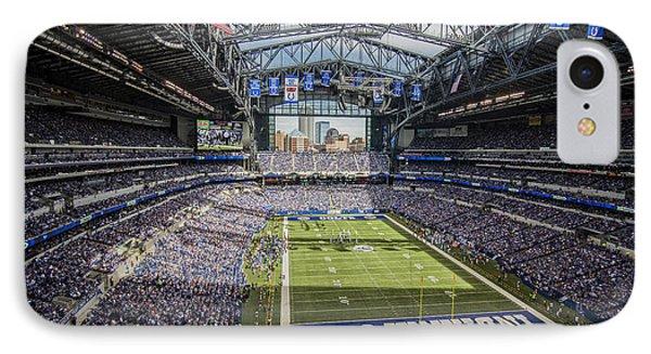 Indianapolis Colts Lucas Oil Stadium 3143 IPhone Case