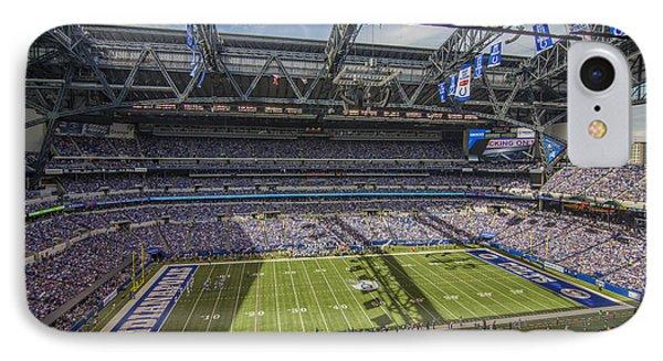 Indianapolis Colts Lucas Oil Stadium 3172 IPhone Case