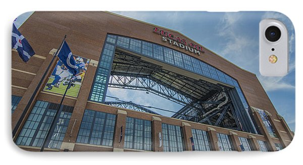 Indianapolis Colts Lucas Oil Stadium 3260 IPhone Case