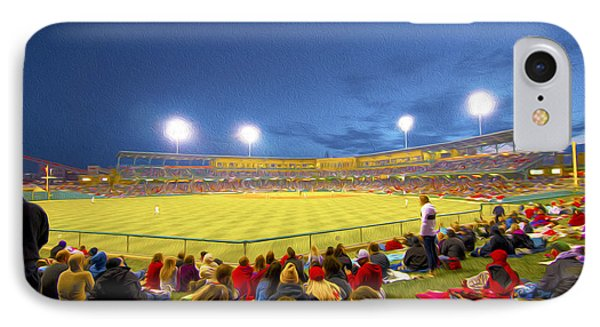Indianapolis Indians Phone Case by David Haskett