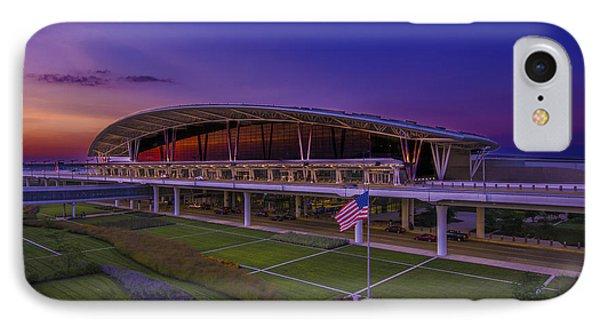 Indianapolis International Airport Sunset Alpha IPhone Case