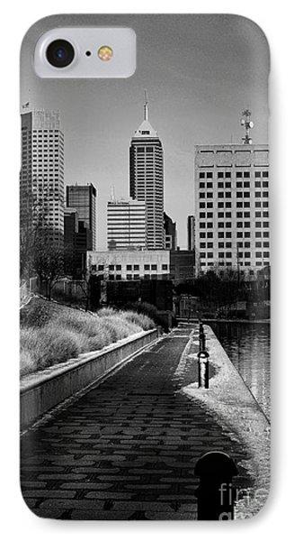 Indianapolis Skyline 21 Phone Case by David Haskett