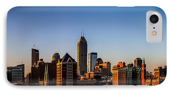 Indianapolis Skyline - South IPhone Case