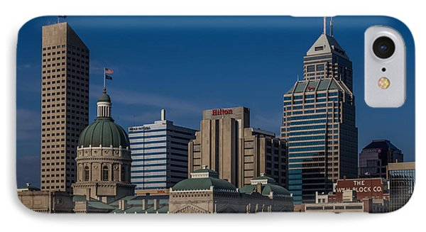 Indianapolis Skyscrapers IPhone Case