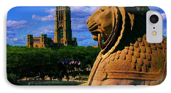 Indianapolis War Memorial Lion IPhone Case