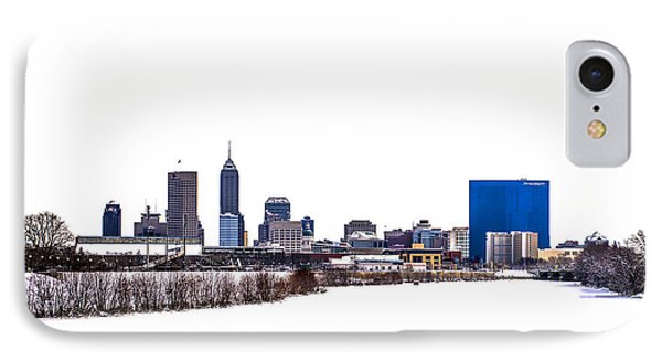 Indianapolis White Out IPhone Case