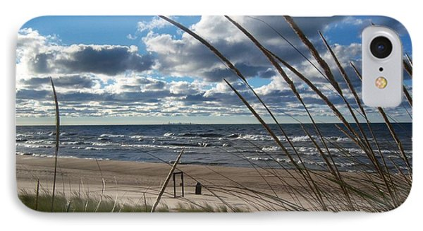 Indiana Dunes' Lake Michigan IPhone Case by Pamela Clements