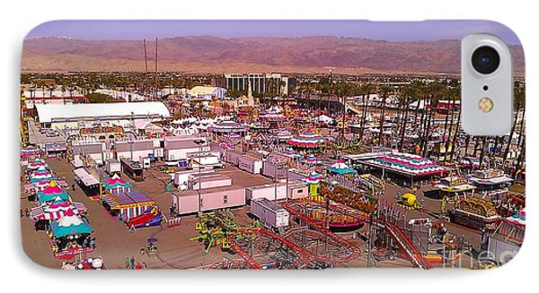 Indio Fair Grounds IPhone Case by Chris Tarpening