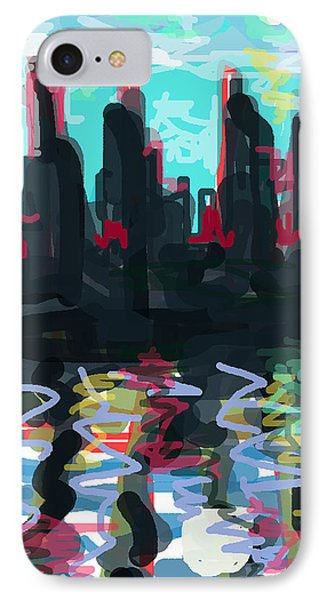 Industrial City On A River  Phone Case by Paul Sutcliffe
