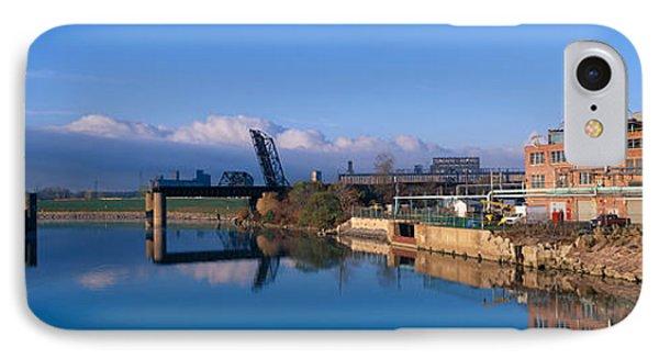 Industrial Landscape Along Rogue River IPhone Case
