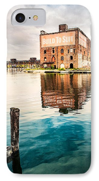 Industrial - Old Buildings - Build To Suit Phone Case by Gary Heller