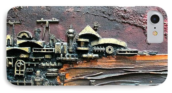 Industrial Port-part 1 By Rafi Talby Phone Case by Rafi Talby