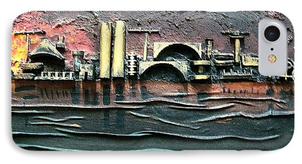 Industrial Port-part 2 By Rafi Talby Phone Case by Rafi Talby